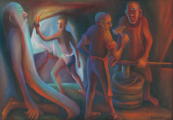 Tibor Gurin – Krádež ohňa z Vulkánovej vyhne