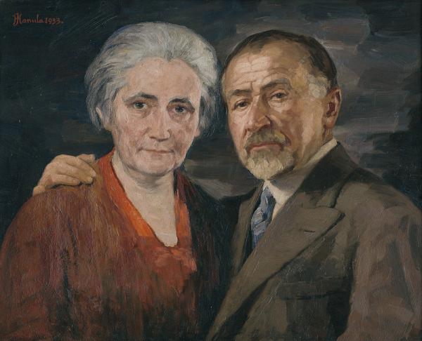 Jozef Hanula – Umelec s manželkou