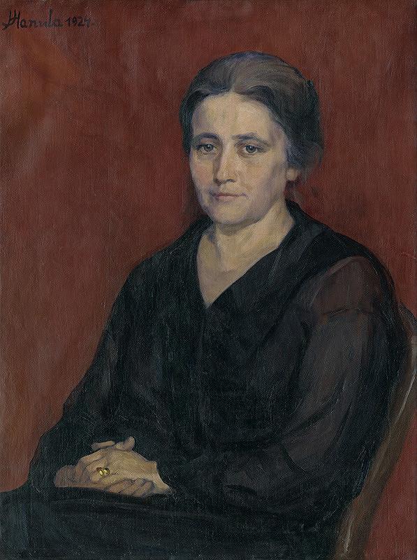 Jozef Hanula - Umelcova manželka