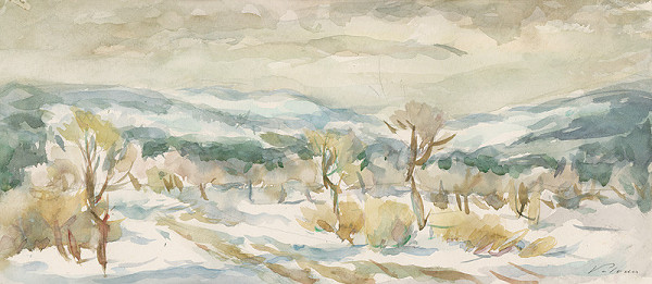 Ján Polom – Daždivá zima