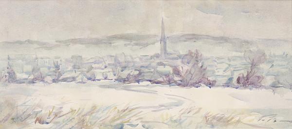 Ján Polom - Moje rodisko v zime