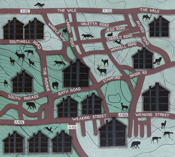 Katarína Balúnová – Zvieratá v priestore mesta