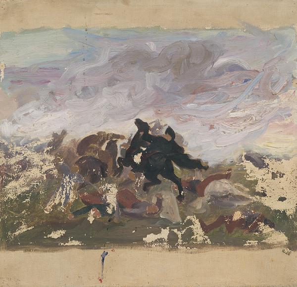 Jozef Hanula – Jazdci na koni