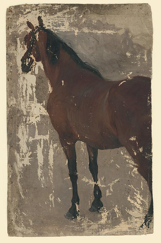 Jozef Hanula - Štúdia koňa