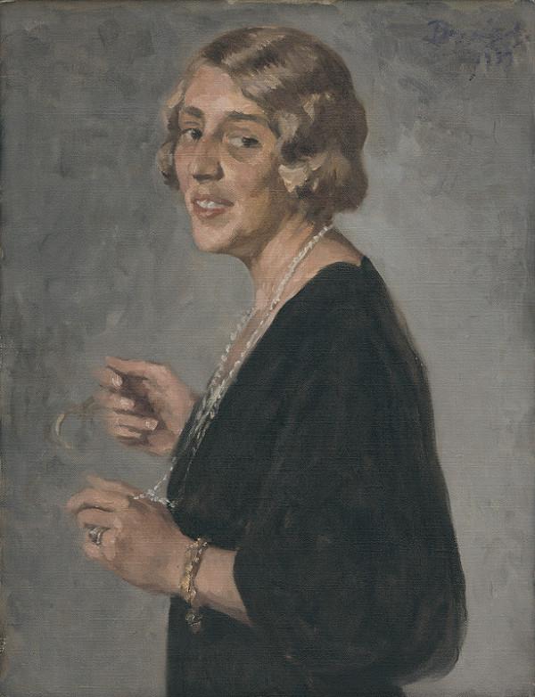 Andor Borúth - Portrét dámy