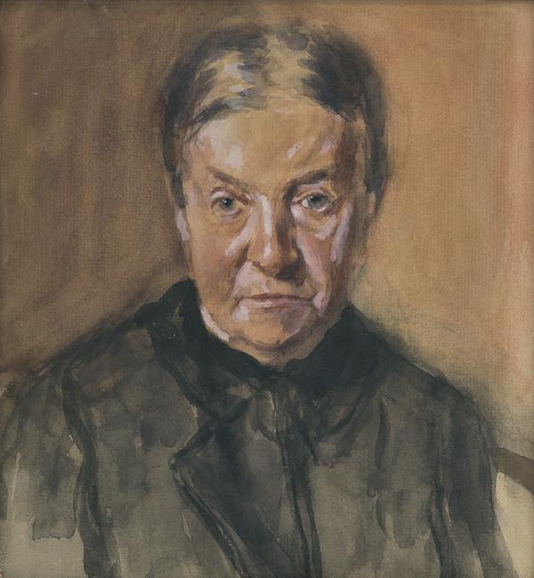 Andor Borúth – Portrét matky