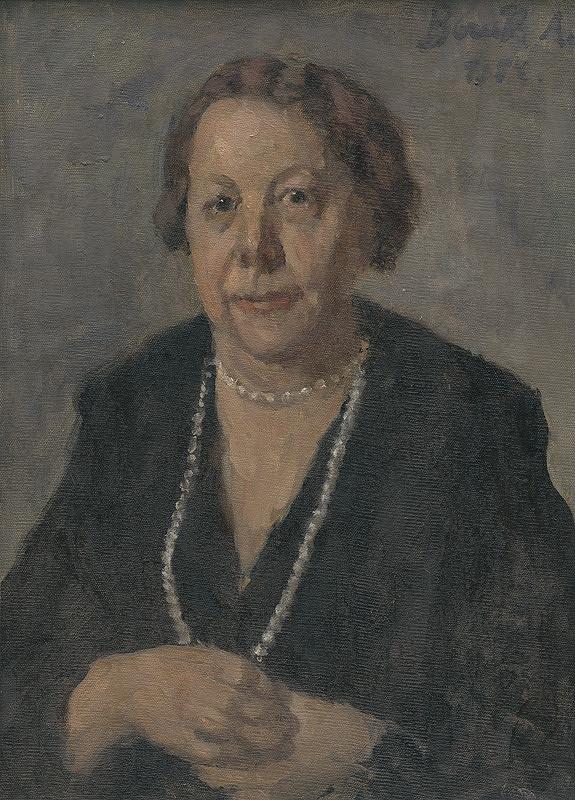 Andor Borúth - Portrét manželky