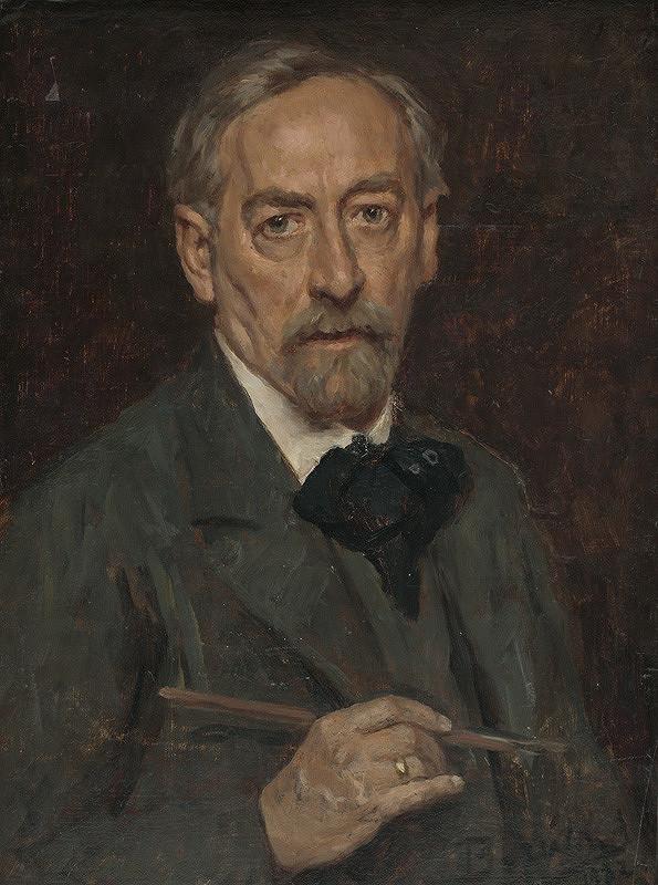 Andor Borúth - Autoportrét