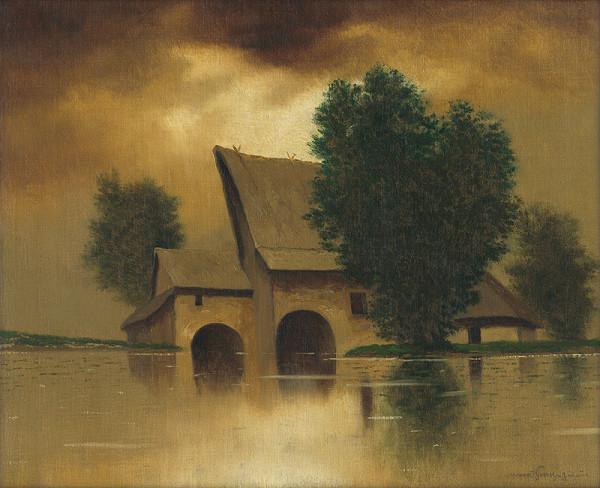 Eugen Szepesi-Kuszka - Povodeň v mlyne
