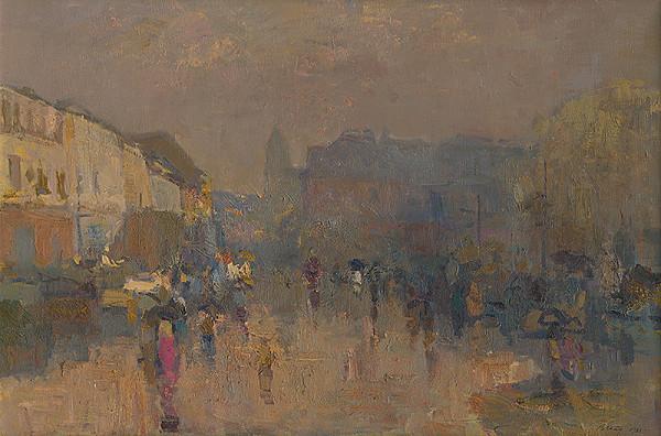 Peter Pollág - Daždivé ráno v Levoči