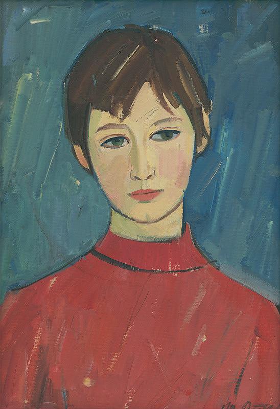 Michal Petrek - Portrét dievčaťa