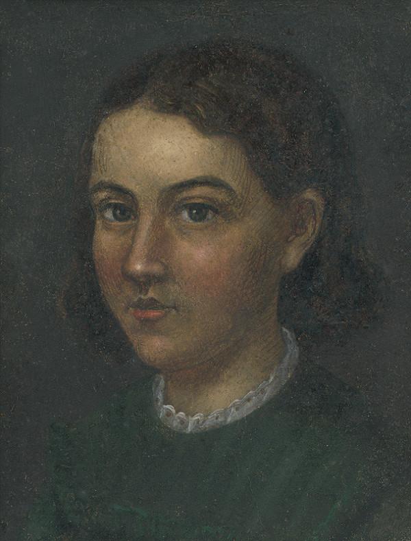 Gustav Adolf Müller - Portrét dievčaťa