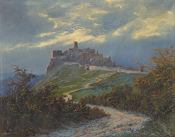 Jozef Kenedich – Pohľad na Spišský hrad