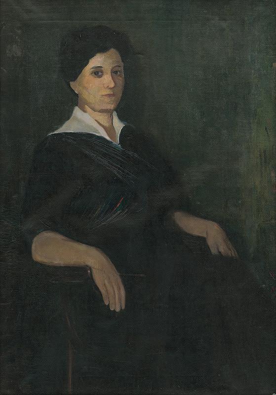 Neznámy autor - Portrét ženy