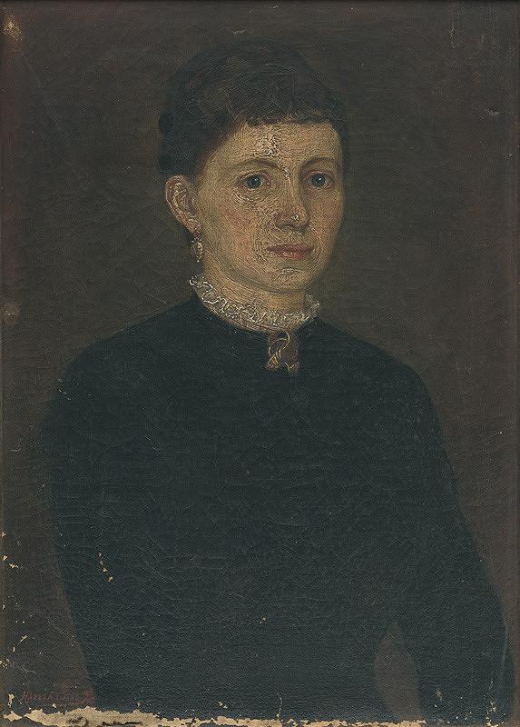 Jozef Hanula - Portrét ženy