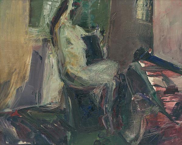 Marián Hennel - Akt v interiéri