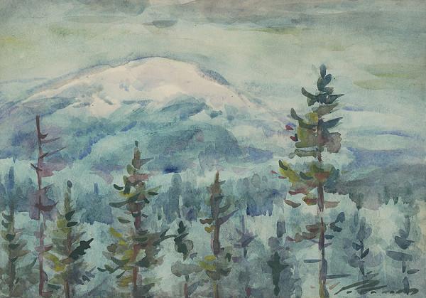 Ján Polom – Zima na horách