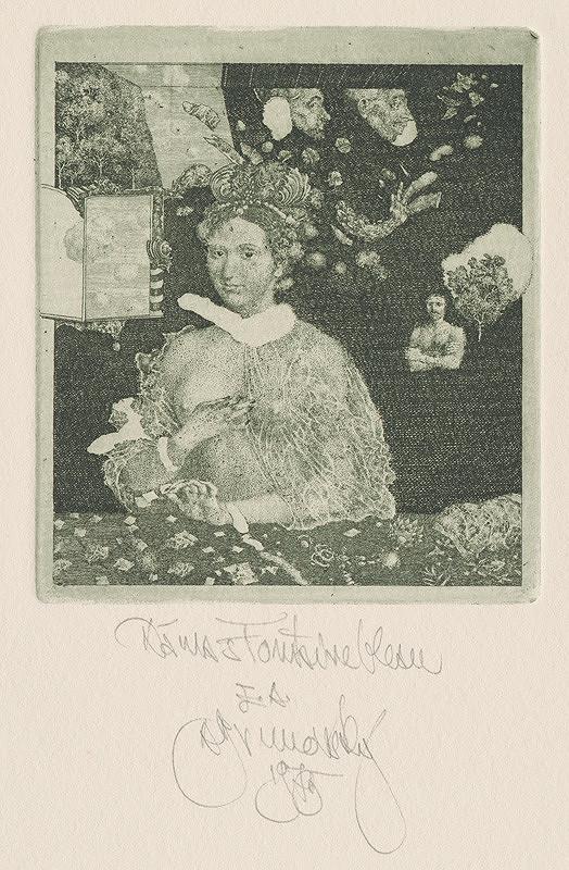 Albín Brunovský – Dáma z fontainebleau