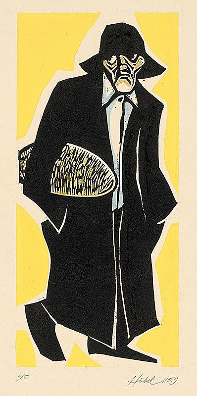 František Hübel – Starec s chlebom