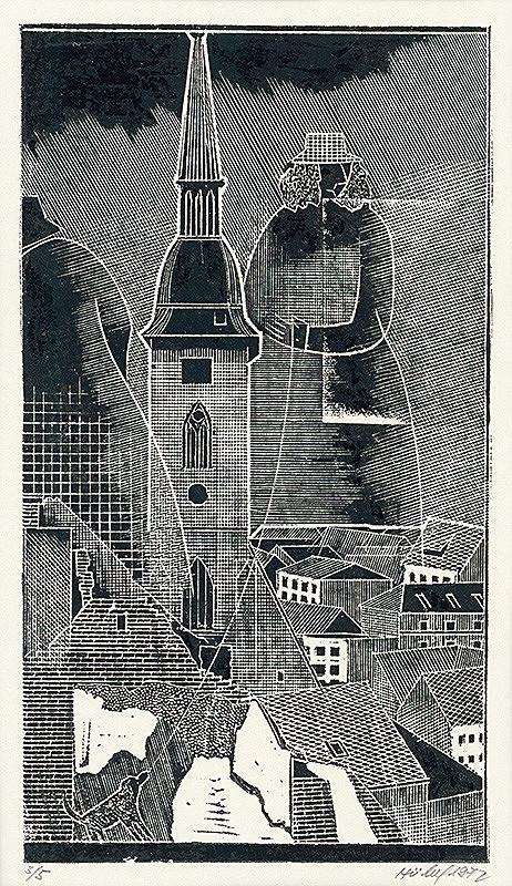 František Hübel – Zo starého mesta VIII.