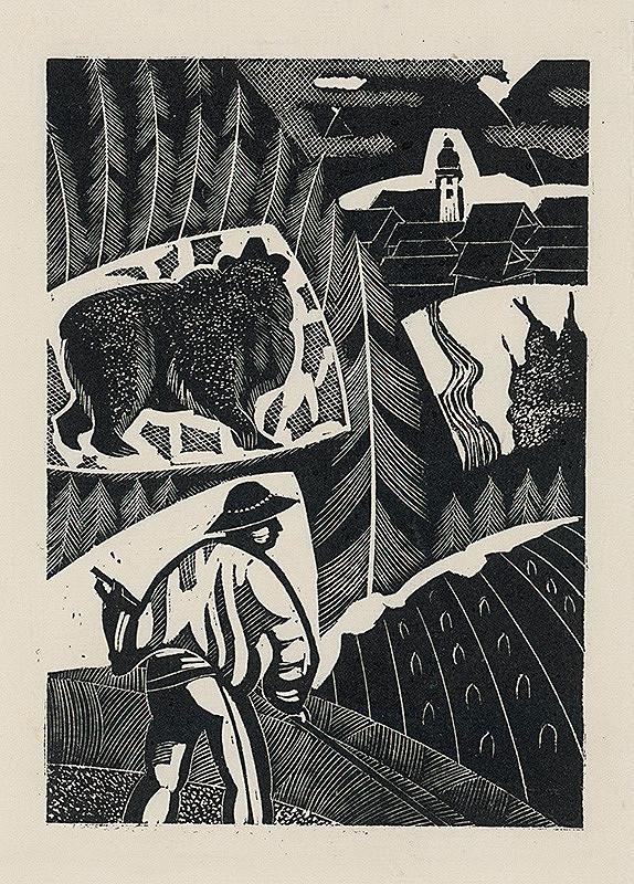 František Hübel – Medveď