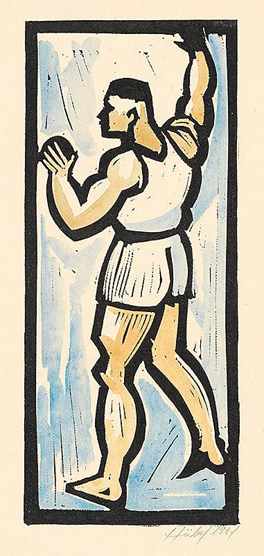 František Hübel – Zápasník