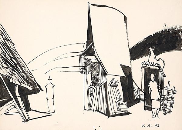 Vincent Hložník – Na dvore