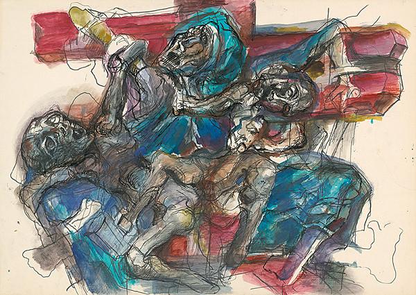 Milan Mravec – Kresba č. 38
