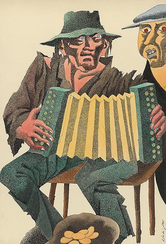 František Hübel – Harmonikár