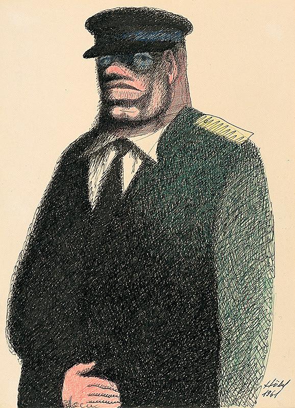 František Hübel – Muž v uniforme