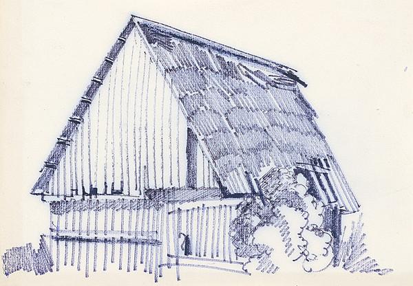 František Hübel – Štúdia drevenice I.