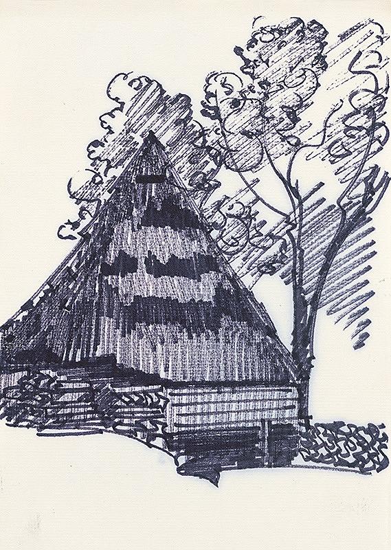 František Hübel – Štúdia drevenice VIII.