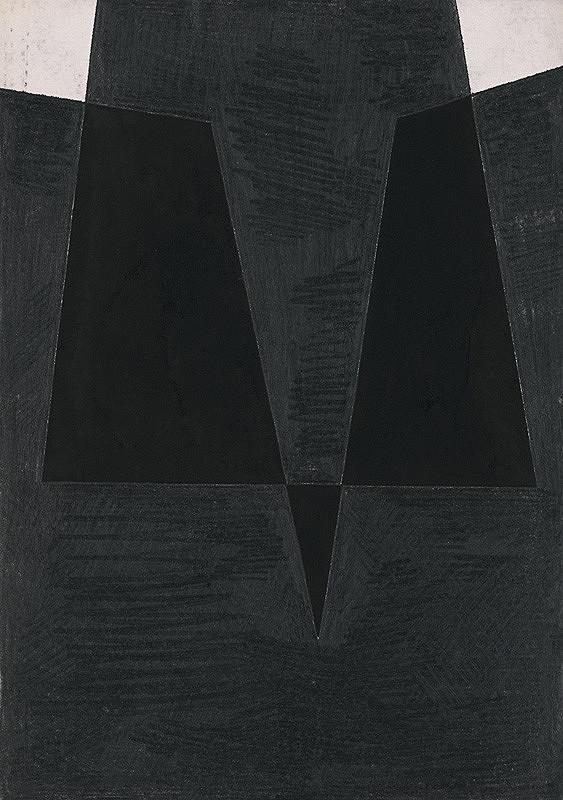 František Hübel – Svetlé a tmavé plochy XXXI.