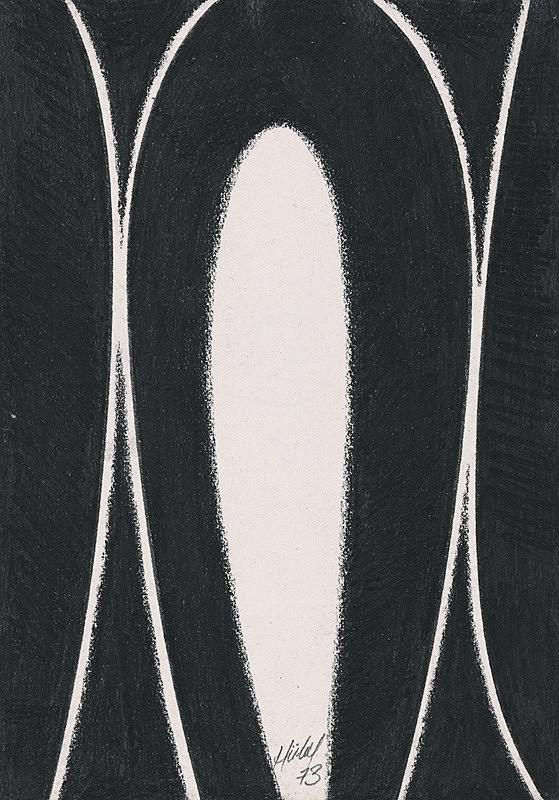 František Hübel – Abstrakt V.
