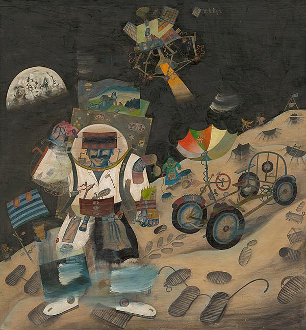 Ondrej Zimka – Kysučan na Mesiaci
