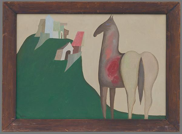 Milan Paštéka – Krajina s koňom