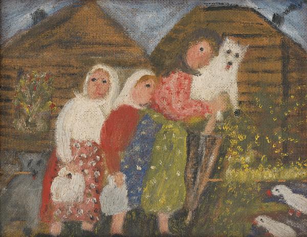 Anna Ličková – Na dedine