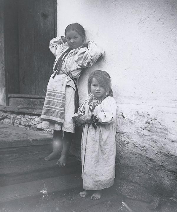 Pavol Socháň – Dve deti- Horehronie
