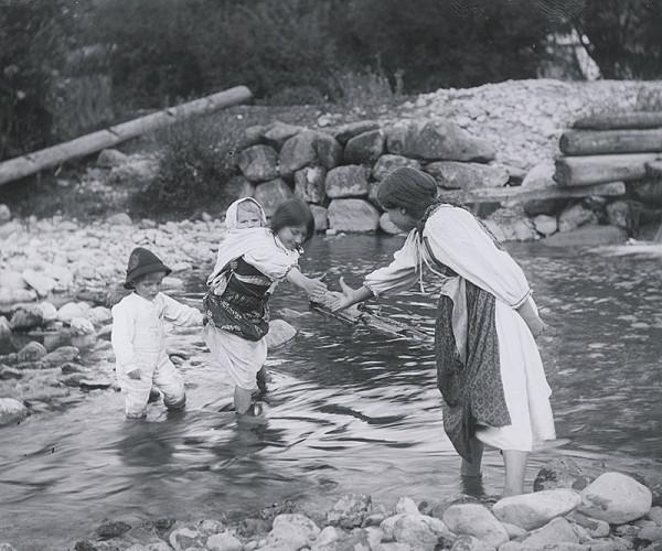 Pavol Socháň – Deti pri vode- Liptovská Osada