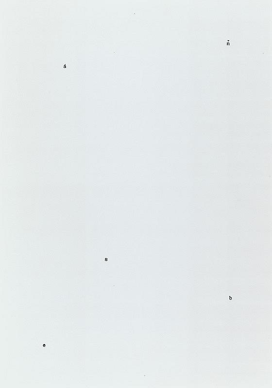 Jiří Valoch – Kresba/Báseň