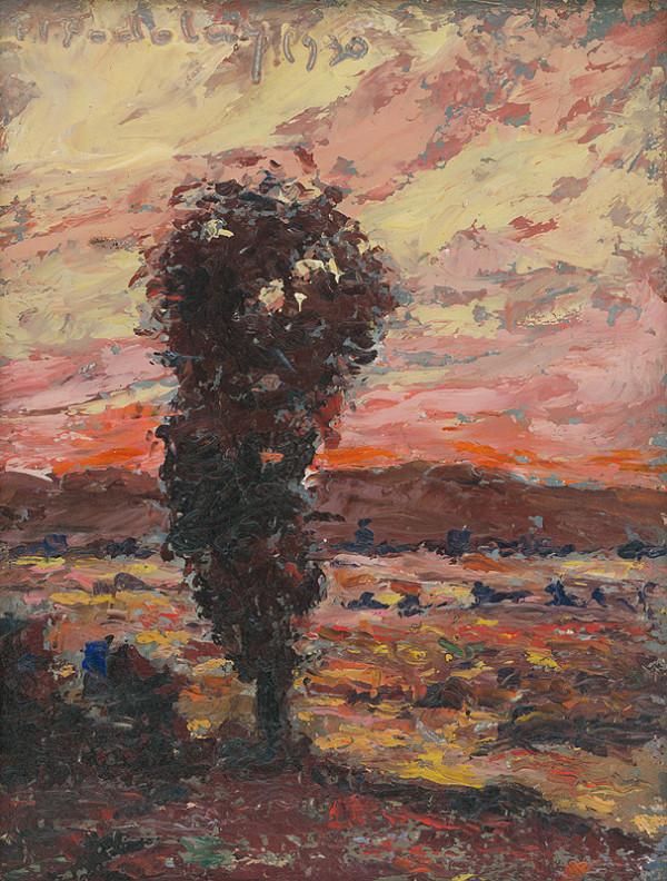 František Viktor Podolay – Osamelý strom