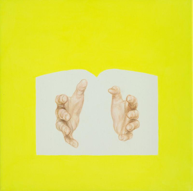 Dorota Sadovská – Svätý Sabas (prsty na rukách), 2007