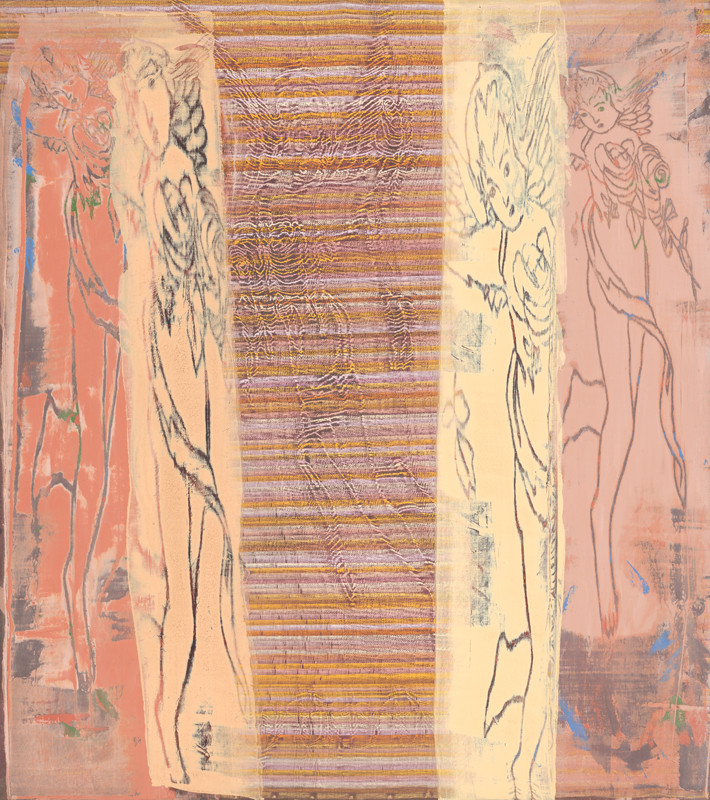 Klára Bočkayová - Anjelské obrazy I., 1989, Nitrianska galéria
