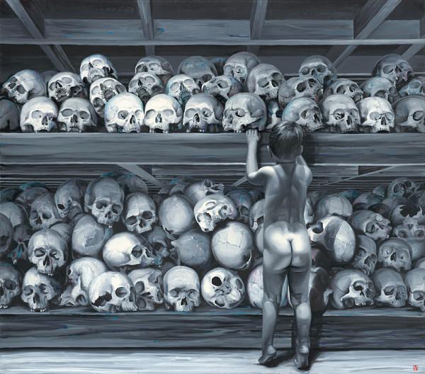 Róbert Bielik – Chlapec a lebky