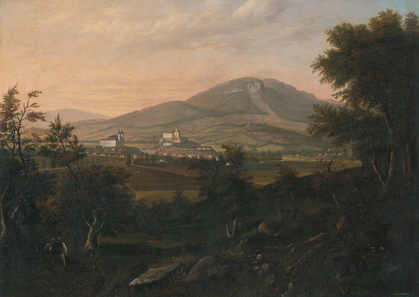 František Rippelli – Pohľad na Nitru