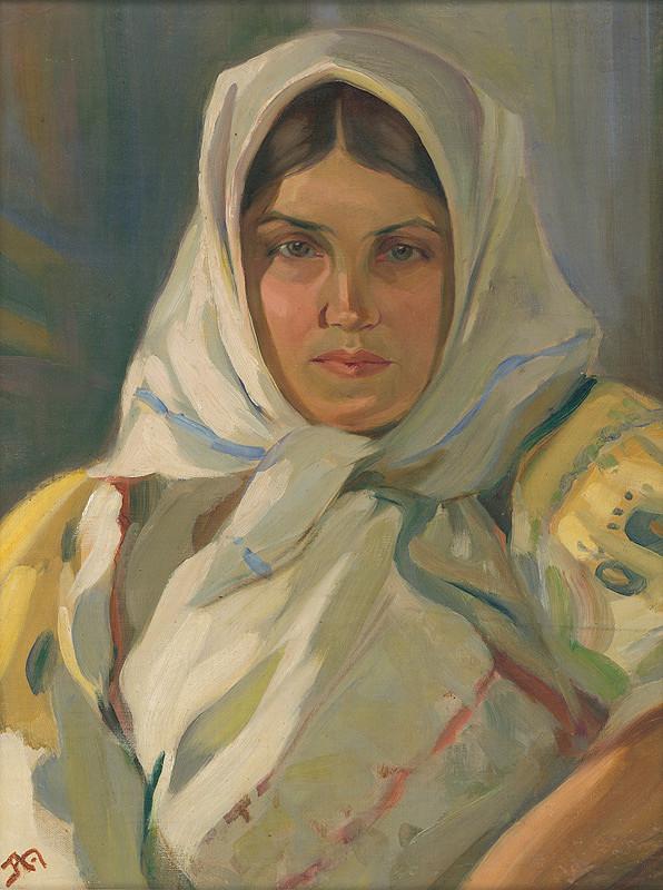 Jaroslav Augusta – Detvianka v bielej šatke