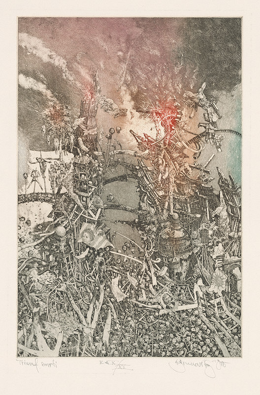 Albín Brunovský - Triumf smrti