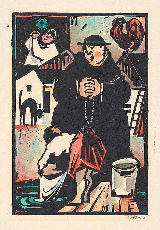 Viliam Chmel – Chodí kňaz po dvore...