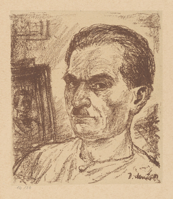 Dezider Milly - Autoportrét II.