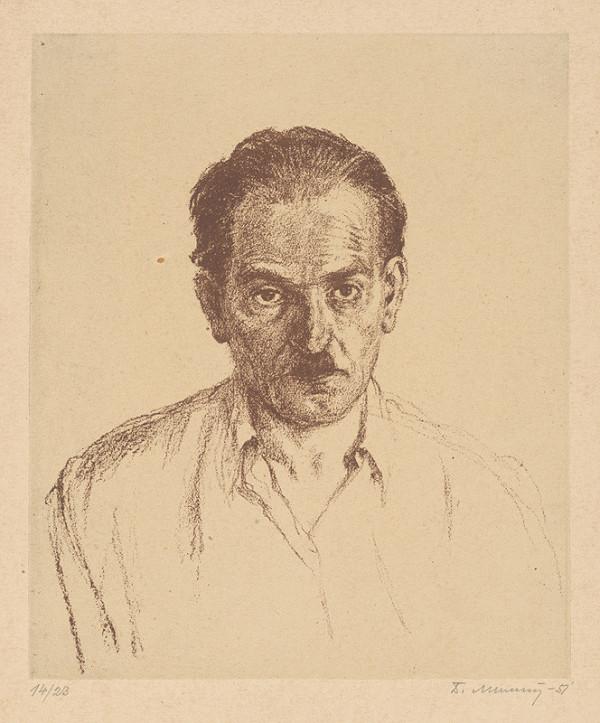 Dezider Milly - Autoportrét I.